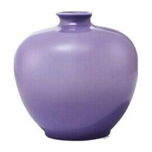 Avon Purple Peace ombre vase- small